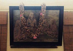 Adi Shankara en Kpjayi shala Mysore